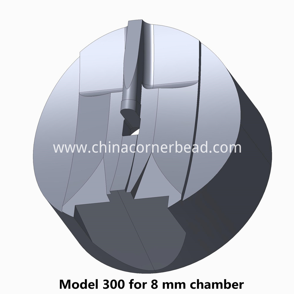 300-for-8mm extrusion die chamber