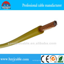 Yellow Sheath 1.5mm2 BV Single Cable Electric Factory Cable