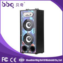 Fabrik-Großverkauf-bewegliche drahtlose kühlste geführte Festzelt-Musik-drahtlose Dusche bluetooth Lautsprecher mit TF / FM / Freisprecheinrichtung