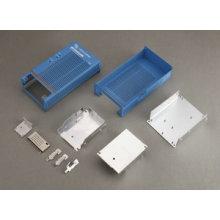 Personalizar o dissipador de calor com cor azul e impressão de tela