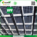 Bluesun 280w transparentes Sonnenkollektorglas angepasst BIPV Preis EU