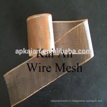 0,05 épaisseur, 1 x 2 mm Grille en cuivre élargie / Batterie Mesh / Batterie Mesh en cuivre / Mesh en aluminium / Mesh en aluminium