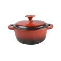 Factory Manufacture Cast iron enamel cast iron cookware