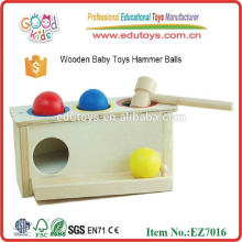 2015 Juguete de madera del martillo de los nuevos cabritos, juguete de madera del martillo de los niños populares