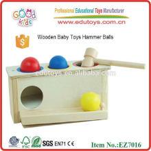 Jouet de marbre en bois pour enfants de 2015, jouet de marteau en bois pour enfants populaires