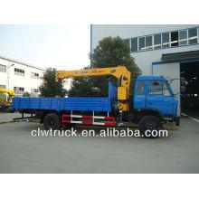 XCMG grúa de 5 toneladas, camión grúa Dongfeng