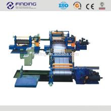 automático lleno de corte a la línea de la longitud de corte a la línea de producción de la longitud de la bobina de acero de China proveedor corta bobinas a la línea de hojas