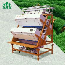 Coste con eficacia clasificador del color del té del ccd / clasificador del color del té óptico / clasificador del color del té verde del ccd