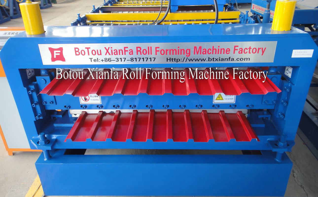 Double Roll Forming Machine