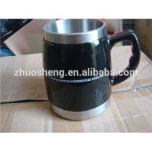 mejor venta de producto fabricado en china por mayor de cerámica taza de cerámica con mango