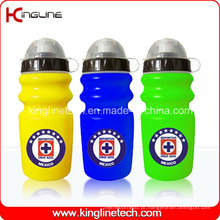 Garrafa de água desportiva plástica, garrafa de esportes plástica, garrafa de água esportiva de 600 ml (KL-6637)