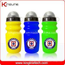 Пластиковая бутылка воды спорта, пластичная спортивная бутылка, бутылка спортов воды 600ml (KL-6637)