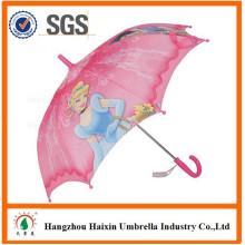 Werbe Funktionstextilie mit Cartoon Charakter gerade billige Kinder Schirm 35cm
