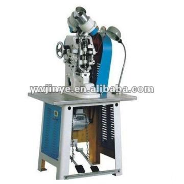 Double tête oeillet Machine (Machine d'oeilletonnage, poinçonneuse)