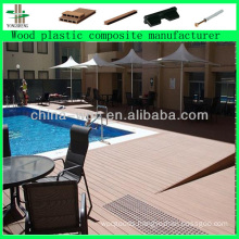 outdoor garden wpc decking