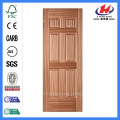 JHK-006 Natural Sepele New Design Textured HDF Interior Door Skin Panel