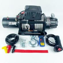 COMPASS 12500 LBS winch 12v with winch rope