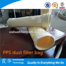 Las mejores ventas de fibras de aramida / bolsa de filtro de polvo FMS para repelente de aceite