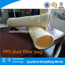 Aramid fibras / FMS saco de filtro de pó para repelente de óleo