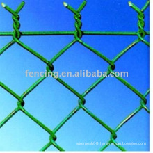 pvc coated security fence