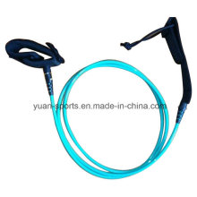 8mm 10′ Light Blue Surfboard Leash for Wholesale