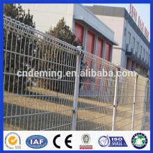 Hochwertiger verzinkter Doppelkreis-Stahldraht-Zaun von der direkten Fabrik