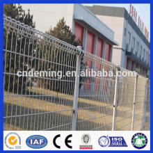 High Quality Galvanized Double Circle Steel Wire Mesh Fence From Direct Factory