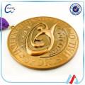 2016 3D gold religious bronze medal