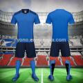 Оптовая цена дешевые футбол Джерси комплекты лучшие качества мужчины сухой Fit мужчины футбол Джерси комплекты футбол Джерси