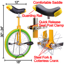 "Free Stand 1.75"" Skidproof Butyl Tire Cycling Bike (HD0621)"