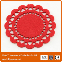 100% Polyester Nonwoven Fabric Coasters