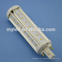 Optionale Base G24 2pin / 4pin 10w LED Stecker in Glühbirnen SMD2835