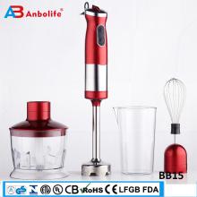 Mini licuadora eléctrica portátil botella licuadora de mano partes de botella licuadora de mano industrial eléctrica de mano portátil