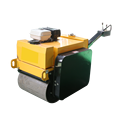 Good quality double drum vibrator road rollers