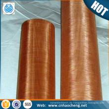 80 100 250 mesh rot kupferner Maschendraht Für Faraday-Käfig