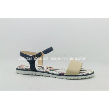Fashion Comfort Flat Leather Women Sandal