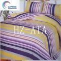 3D 4PCS Bright Colorful Bedding Set Reactive Printed Bed Sheet