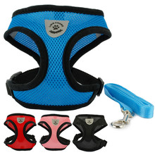 Dog Cat Harness and Leash Set