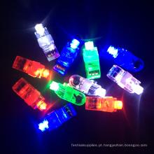 fontes do partido mini luzes conduzidas brilhantes do dedo