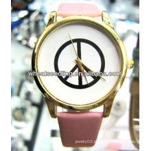 2013 moda pulseira de couro jóias relógios digitais para as mulheres JW-16