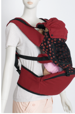 Africa red color full size baby carrier