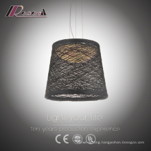 Black Ratan Dining Room Pendant Light Favourable Price