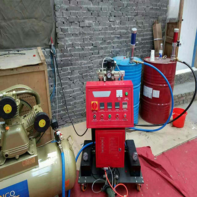 polyurethane foam spray equipment