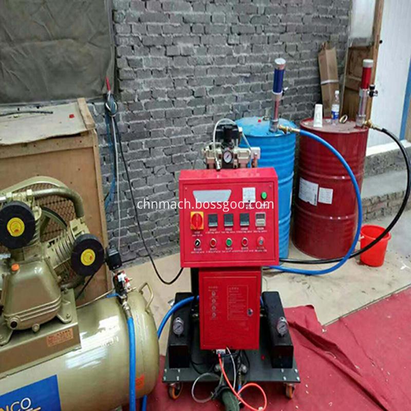 polyurethane foam spray equipment