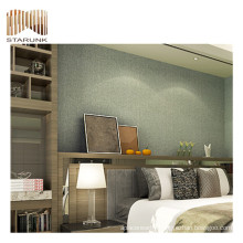 eco-friendly chinese textured vinyl woven wall paper for sale