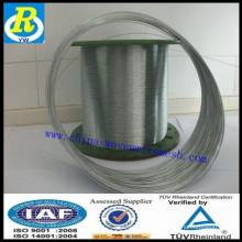 Fil galvanisé trempé à chaud Fil de 0,2 mm Fil Anping Usine de base