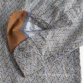 High Quality Men's Short Sleeve Print Cotton Shirt