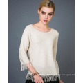 Lady's Cashmere Blend Fashion Sweater 17brpv122