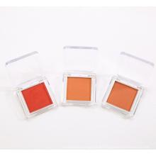 Maquillaje de rubor de etiqueta privada de paleta de crema