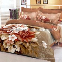 rose printed bedding set/3D flower printed bedding set